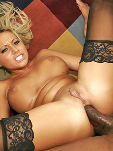 White Girl Can't Get Enough Black Dick!