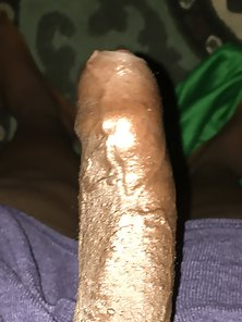 Black uncut dick tell me what you think ladies