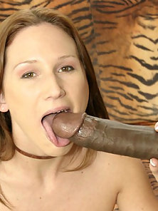 Tiny Slut Broken In Half By Black Snake