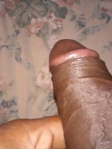 fat uncut cock ready to enjoy