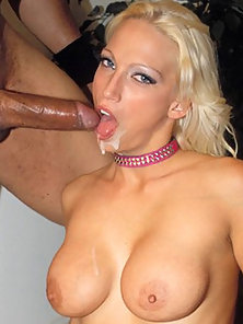 Tight Blond Ass Nailed By Black Dong