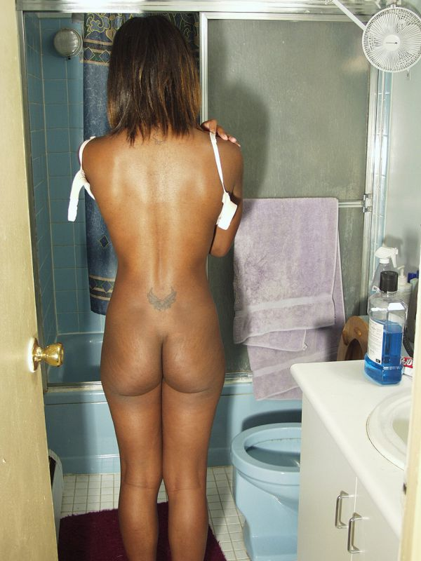 Black girl with small ass