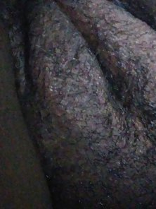 Mzphatkats fat vagina laying in bed naked after work and the gym today