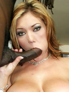 Curvy Claire Dames Loves Hard Black Cock