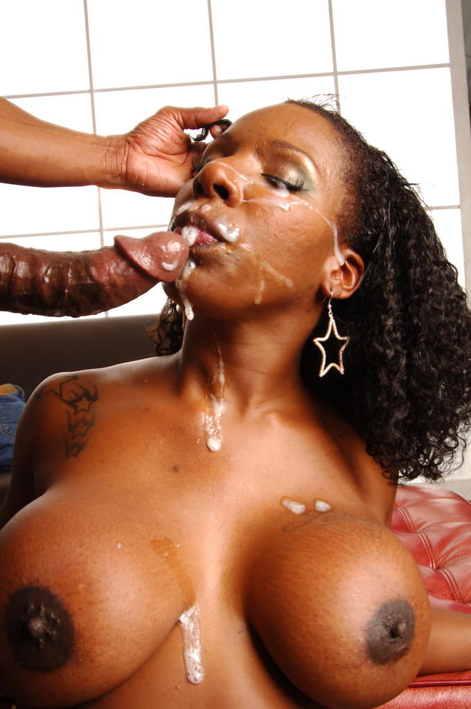 Black jizz facials hot nude