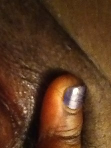 Black Hairy Phat Pussy