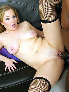 Pale Blonde Needs Some Big Black Cock