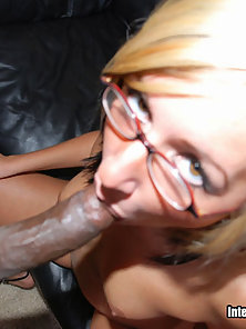 Candy Jones Can't Get Enough Interracial Cum In Her Creampie
