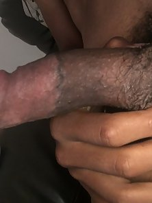 Hadsome Young Guy Jerks his Hairy Cock in Pov