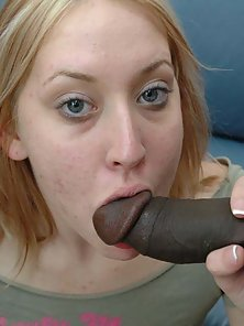Two thick black cocks and one juicy white pussy
