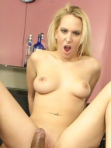White Bitch Stretched By Huge Black Dick