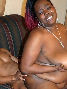 A Big Black Girl Gets Her Pussy Fucked