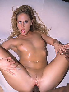 Cute babe takes on big black cock