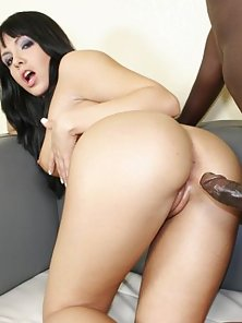 Sultry Latina Goddess Stretched By Black