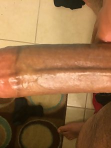 Big dick before shower!!!