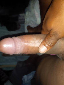 My horny dick waiting on some tight wet pussy