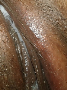 Juice dripping wet pussy