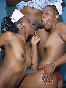 Black nurses getting it on with each other and patients too