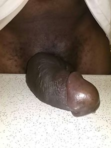100% ALL BLACK BULL DICK SLAB !