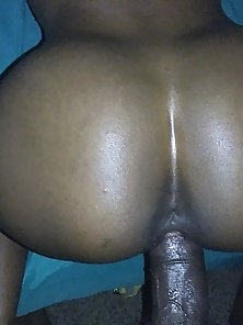 Black dick ready for action