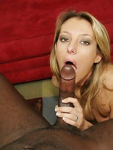 White Slut Is Stretched By Black Dick