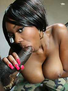 Hot black girl gets her beauty big booty flipped and fucked everywhich-way