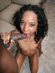 Hot body mocha babe takes a hot cock in her pink pussy from behind
