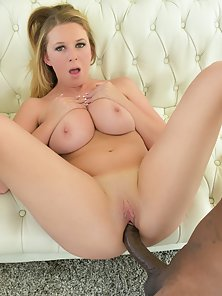 Wonderful Blonde Babe Brooke Wylde Gets her Yummy Pussy banged by Rico Strong