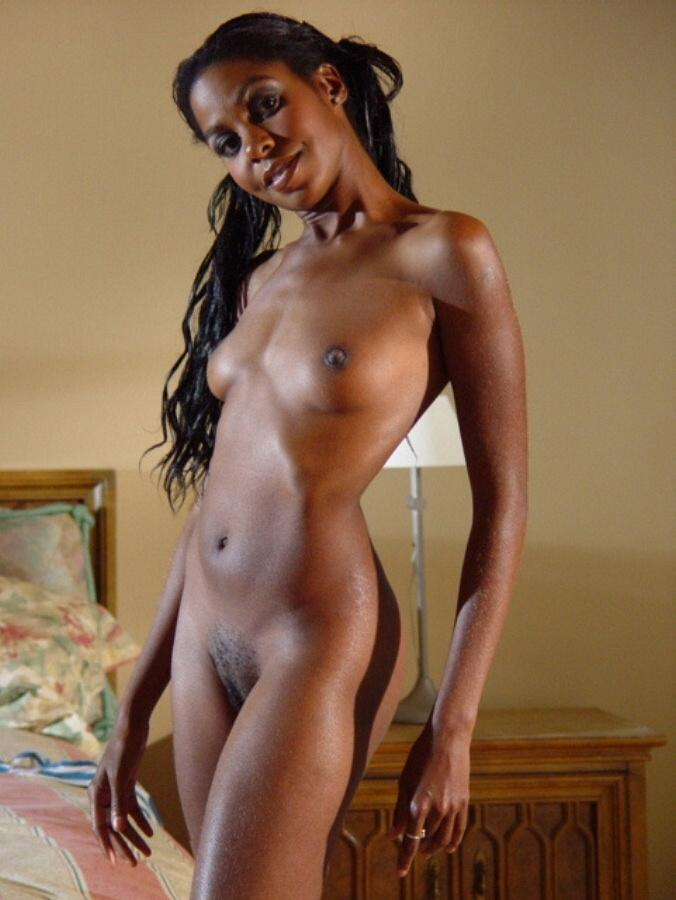 gorgeous slim ebony ladies nude