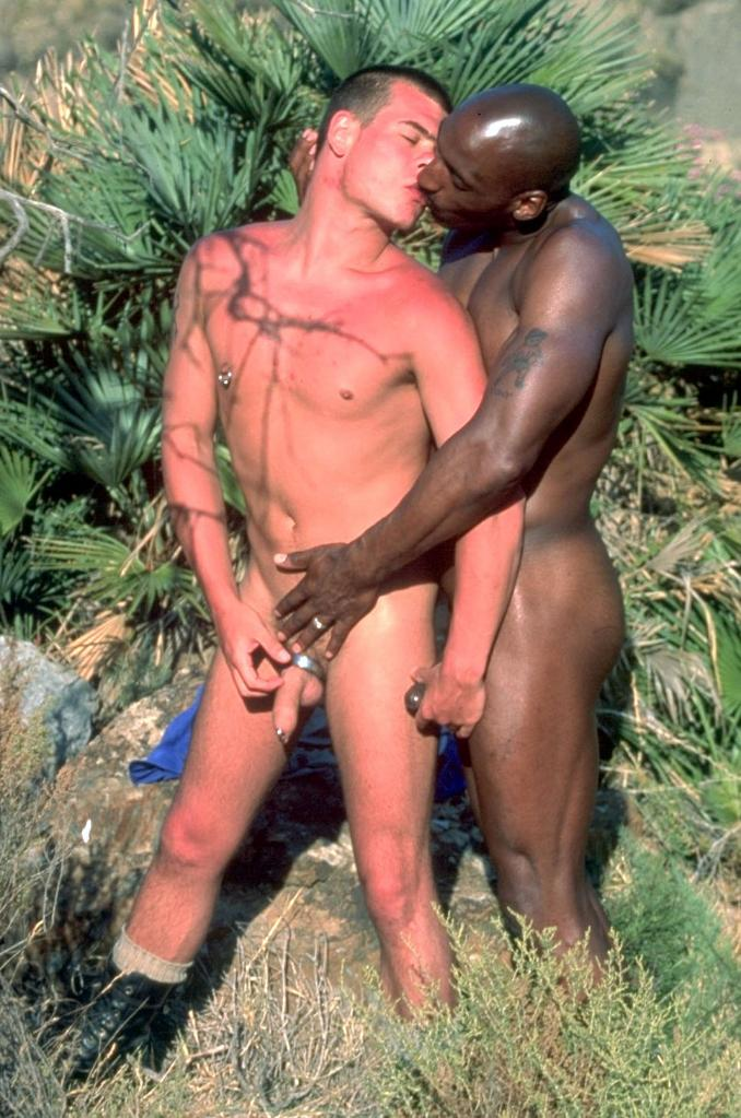 Hot gay interracial fucking and sucking