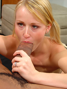 Big black cocks sometimes have a mind of their own, and in Sharon's case they wanted to pop that tig