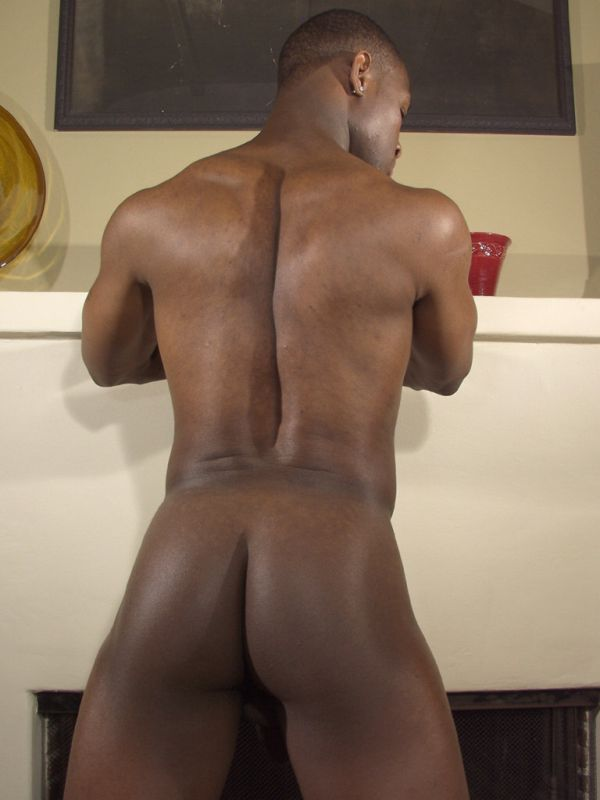 Nude black men bubble butt