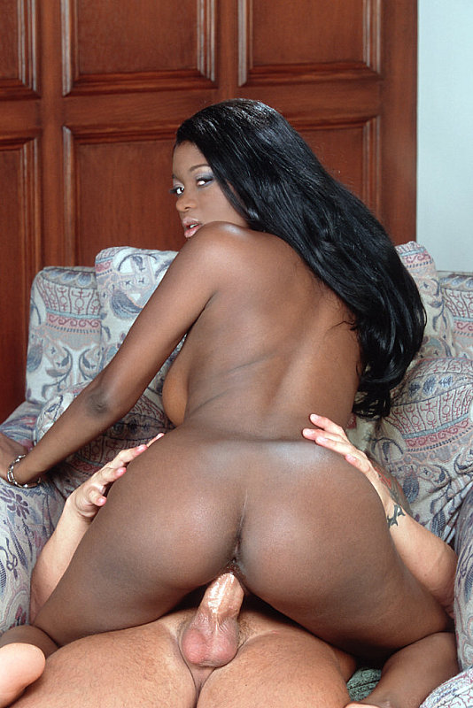 Big Ass Ebony Riding Cock