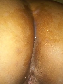 Picture of a Fat Ass with Juice Sexual Parts