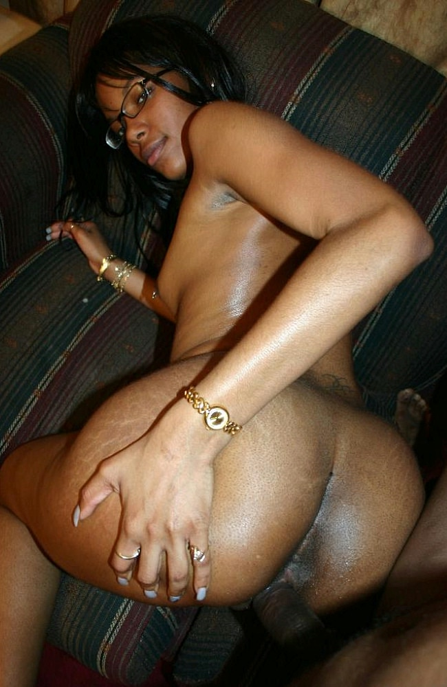 Young Black Teen Homemade