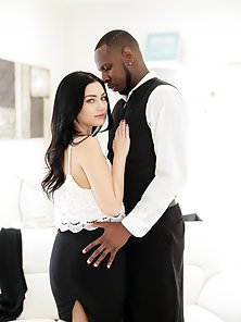 Young Black Dude Jon Jon Fucking Karly Baker Yummy Pussy from Behind
