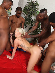 Maia Davis got fucked by several black cocks