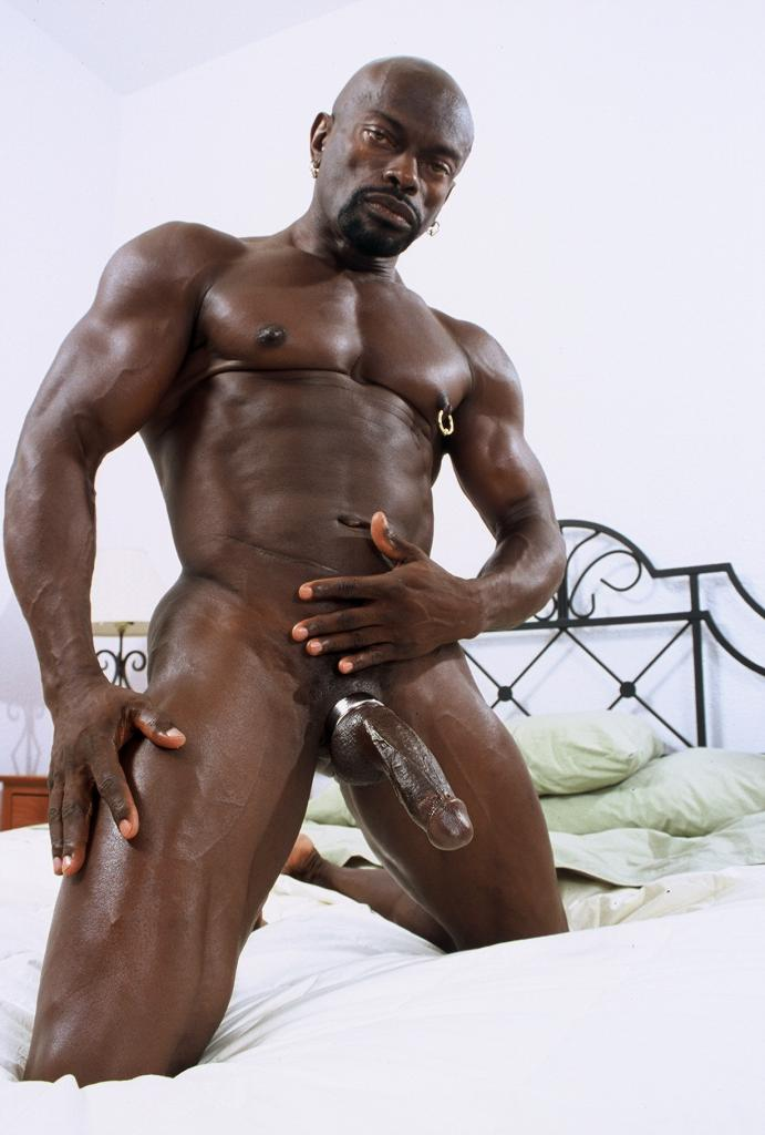 Big black cock muscle