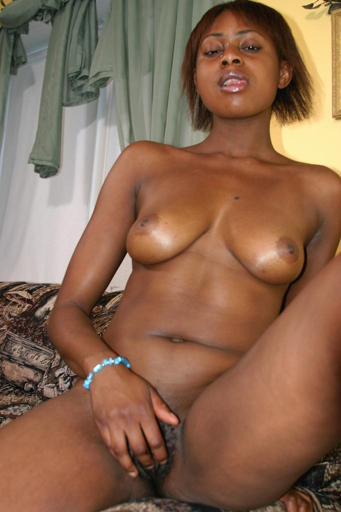 Horny Ebony Teen Stripping Off In Front Of The Camera To -3828