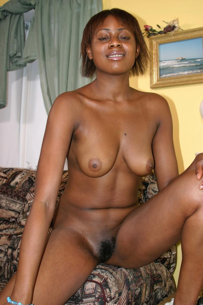Horny Ebony Teen Stripping Off In Front Of The Camera To -3458