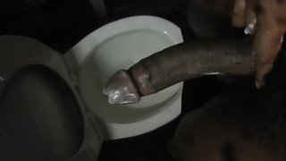 just bored and pounding this huge cock - solo cock jerking