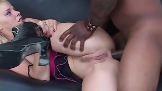 Dashing Blonde Teen Gets her Sweet Pussy and Asshole Banged by BBC